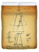 Metronome Patent Duvet Cover