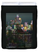 Metropolis After The Storm Duvet Cover