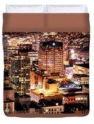 Metropolis Vancouver Mdccxv  Duvet Cover