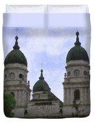 Metropolitan Cathedral Duvet Cover