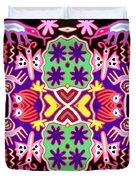 Mex Mod - Huichol 116 Duvet Cover