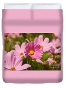 Mexican Aster Flowers 2 Duvet Cover