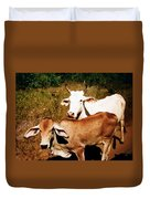Mexican Cattle Duvet Cover