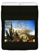 Mexican Country Road Duvet Cover