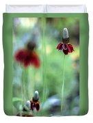 Mexican Hat Flower Duvet Cover