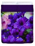 Mexican Petunia  Duvet Cover