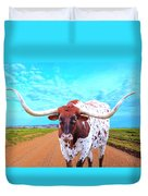 Mexican Standoff Duvet Cover