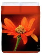 Mexican Sunflower Duvet Cover