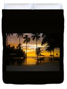 Mexican Sunset Duvet Cover
