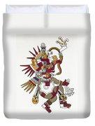 Mexico: Quetzalcoatl Duvet Cover