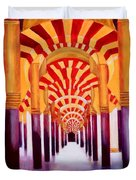Mezquita De Cordoba Duvet Cover