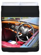 Mg Dashboard Duvet Cover