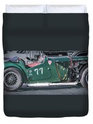 Mg-tc Supercharged Side View Duvet Cover