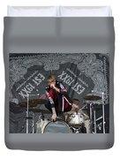 Mgk Drums Duvet Cover