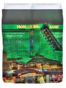 Mgm Grand Las Vegas Duvet Cover