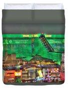 Mgm Grand Las Vegas Duvet Cover by Nicholas  Grunas