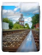Mi New Haven Rail Road Reflections Duvet Cover