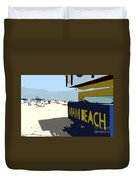 Miami Beach Work Number 1 Duvet Cover