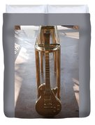 Miami Hard Rock Brass Rail Duvet Cover