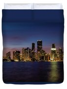 Miami Nights Duvet Cover