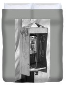 Miami Pay Phone Duvet Cover