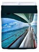 Miami Reflection Duvet Cover