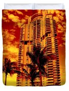 Miami South Pointe IIi Duvet Cover