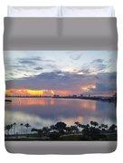Miami Sunrise Part 1 Duvet Cover