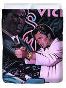 Miami Vice Duvet Cover