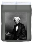 Michael Faraday, English Physicist Duvet Cover