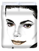 Michael J Duvet Cover