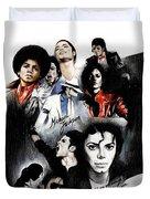 Michael Jackson - King Of Pop Duvet Cover