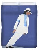 Michael Jackson Smooth Criminal Duvet Cover