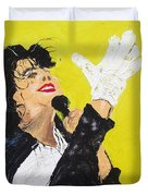 Michael Jackson The Hand Duvet Cover