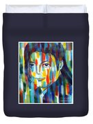 Michael Jackson  The Man In Color Duvet Cover