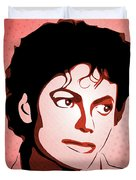 Michael Jackson - Thriller - Pop Art Duvet Cover