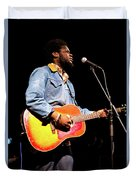 Michael Kiwanuka, Photographed By Anna Webber At Heartbreaker Ba Duvet Cover