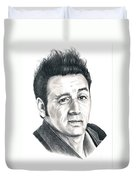 Michael Richards Cosmo Kramer Duvet Cover
