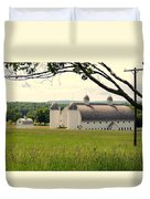 Michigan Barn 1 Duvet Cover