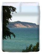 Michigan Bluff Duvet Cover