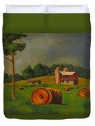 Michigan Farm Duvet Cover