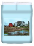 Michigan Farm Duvet Cover