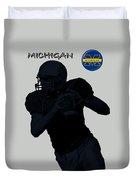 Michigan Football  Duvet Cover