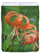 Michigan Lilly Duvet Cover