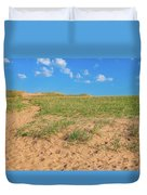 Michigan Sand Dune Landscape In Summer Duvet Cover