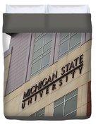 Michigan State University Signage 02 Duvet Cover