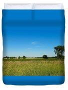 Michigan Summer Fields Duvet Cover