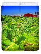 Michigan Surgar Beet Farming Duvet Cover