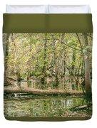 Michigan Swamp Duvet Cover