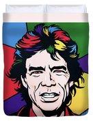 Mick Jagger Duvet Cover